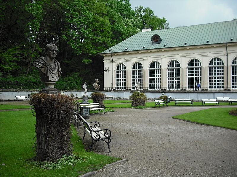 łazienki Królewskie W Warszawie Stara Pomarańczarnia
