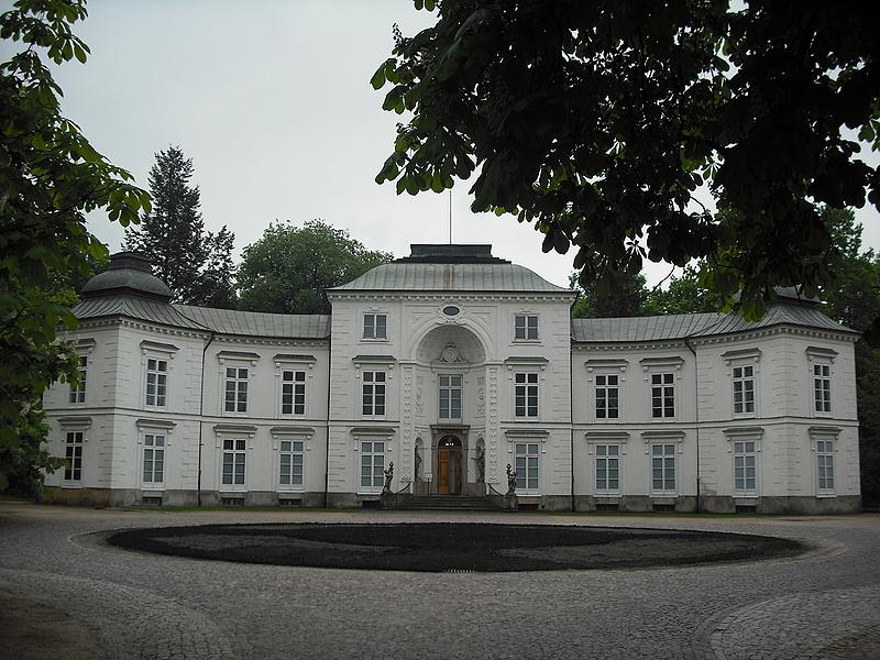 łazienki Królewskie W Warszawie Pałac Myślewicki