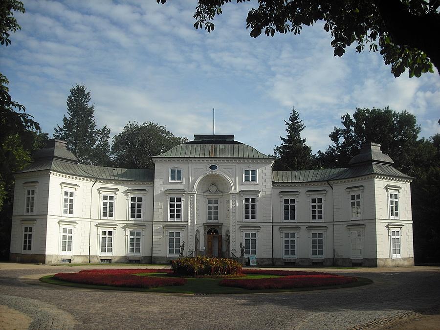 Warszawa łazienki Królewskie Pałac Myślewicki Warszawa