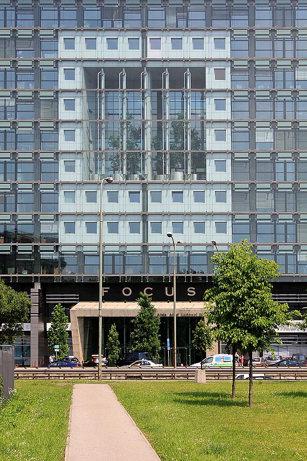 Warszawa Biurowiec Focus Autorstwa Kuryłowicza Warszawa I
