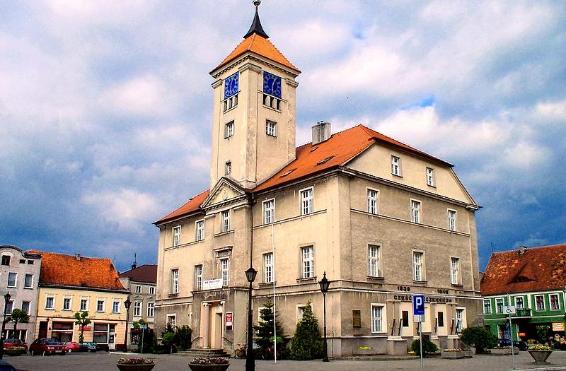 Kościan - ratusz - Wielkopolska - Polskie Krajobrazy