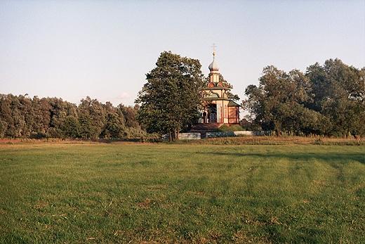 Jabłeczna - kaplica Świętego Ducha
