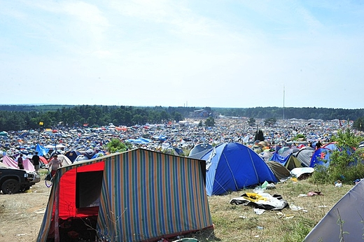 Woodstock 2009 - panorama
