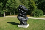 Orońsko. Tony Cragg - Good Face, 2007
